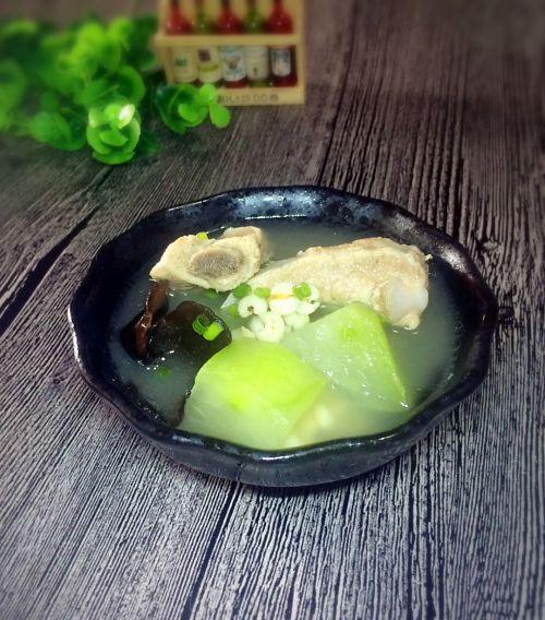 排骨冬瓜薏米汤的做法图解6