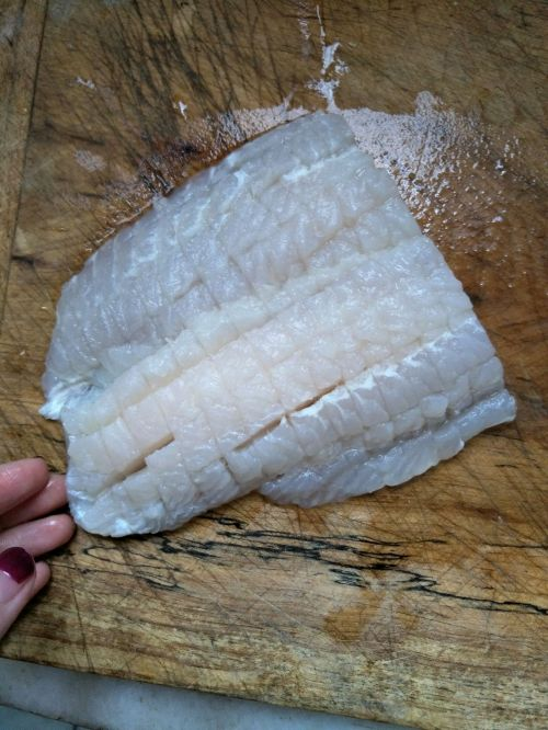 菠萝玉米龙利鱼的做法图解3