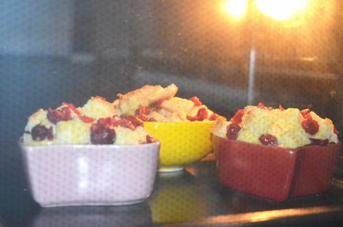 蔓越莓吐司布丁的做法图解6