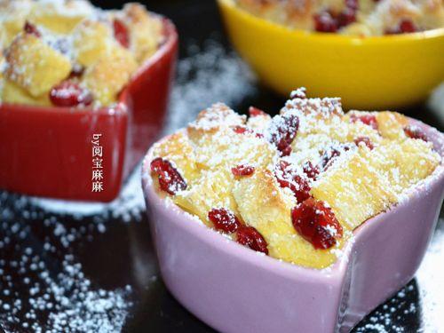 蔓越莓吐司布丁的做法图解8