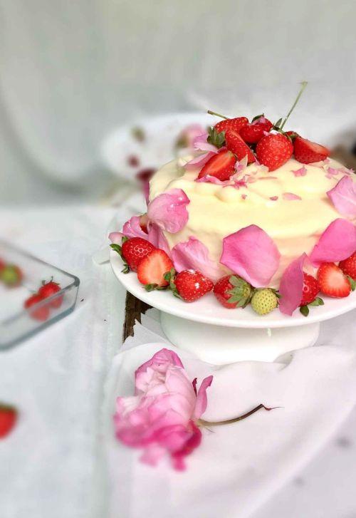 我亲爱的老妈的生日蛋糕,你们也可以做给相爱或者爱恋的人哦-情人图片