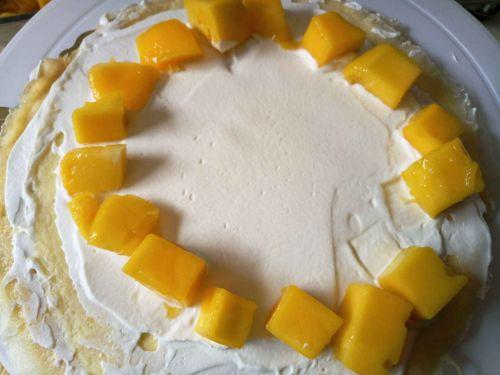 芒果千层蛋糕的做法图解5
