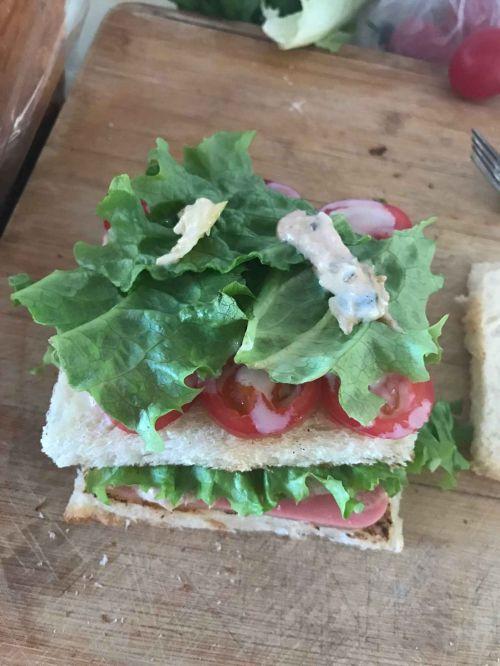 阳光早餐三明治的做法图解3