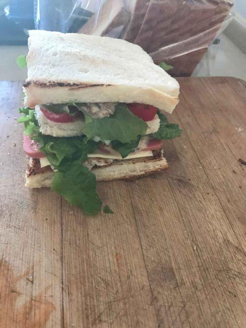 阳光早餐三明治的做法图解6