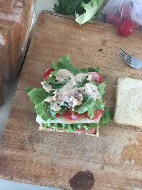 阳光早餐三明治的做法图解7