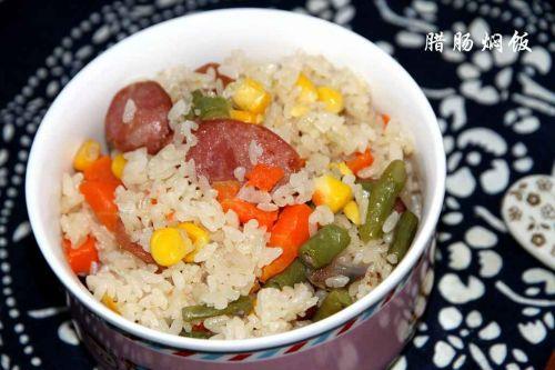 制好,比平时煮米饭的水稍微少一点点,这样米饭才不会太湿.   大家
