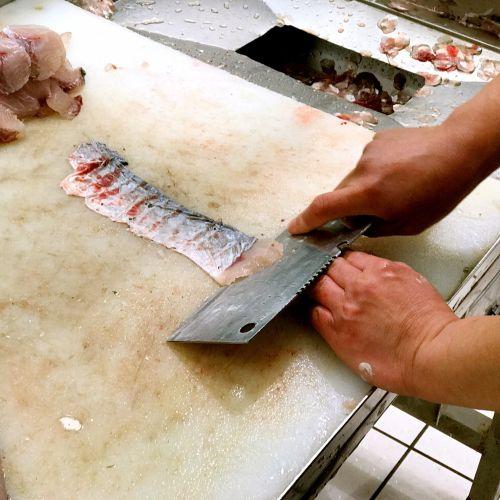 香辣酸菜鱼的做法图解1