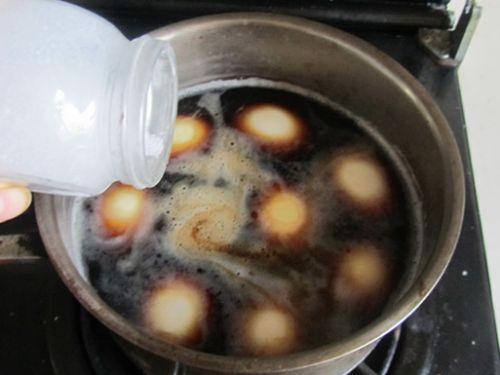 卤蛋的做法图解8
