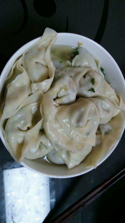 香菇油菜鸡蛋饺子的做法图解10