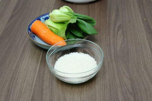 蔬菜粥的做法图解1