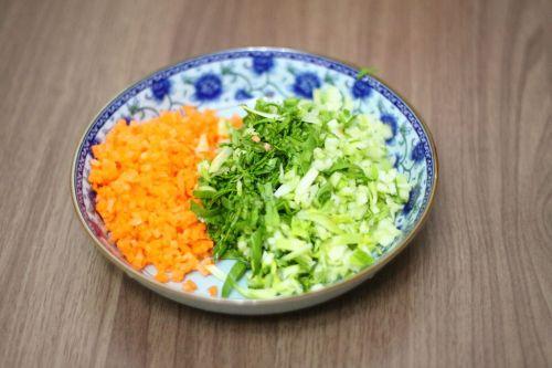 蔬菜粥的做法图解4