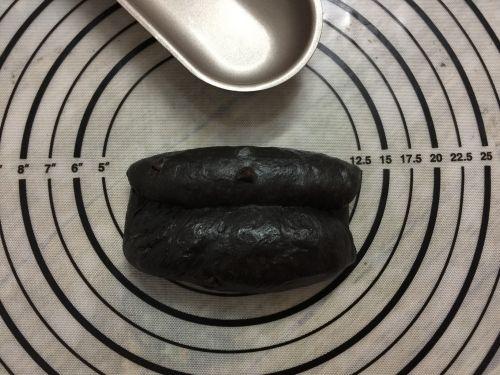黑可可热狗包的做法图解7