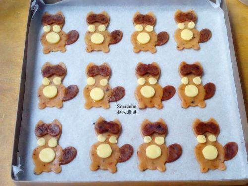 小浣熊饼干的做法图解9
