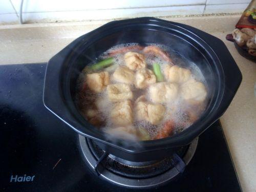 砂锅海鲜汤面的做法图解4