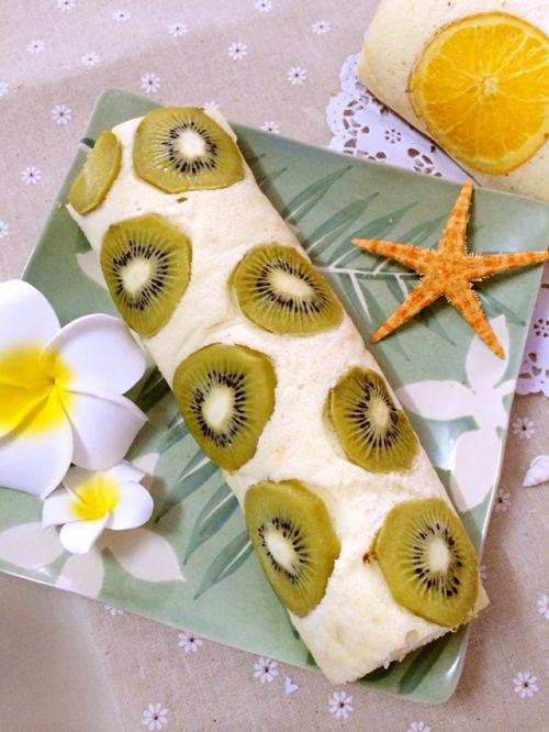 奇异果蛋糕卷的做法图解6