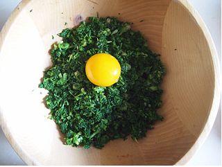 北极虾荠菜馄饨的做法图解7