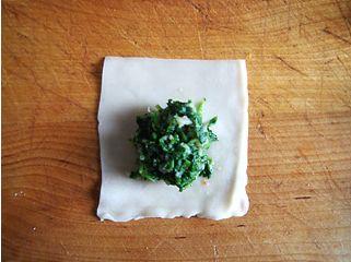 北极虾荠菜馄饨的做法图解9