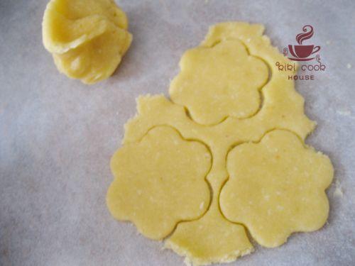 蓝莓QQ糖果酱夹心饼干的做法图解9
