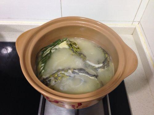 川味砂锅之豆腐黄骨鱼汤的做法图解5