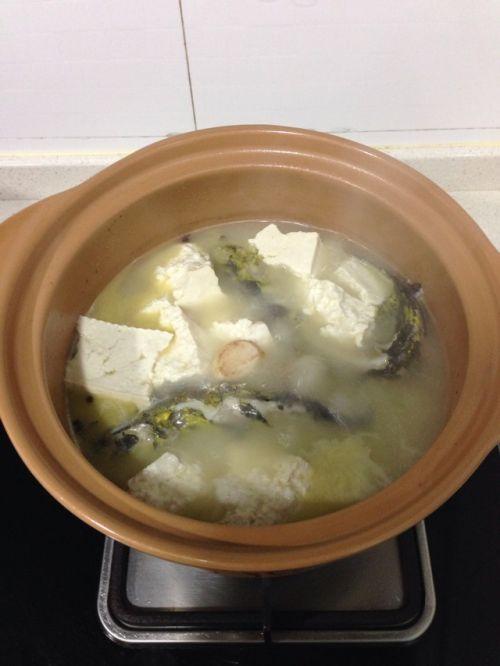 川味砂锅之豆腐黄骨鱼汤的做法图解7