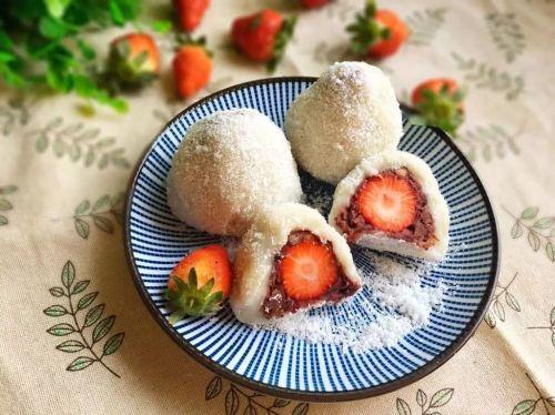 草莓大福的做法图解18