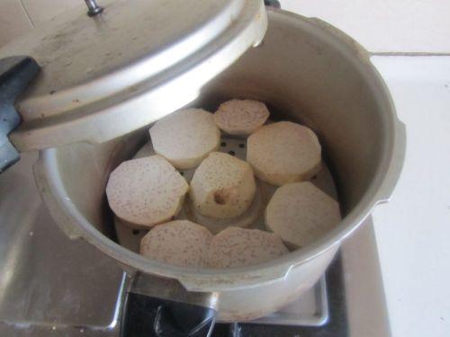 香芋汤圆饼的做法图解1