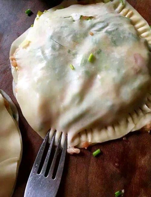 饺子皮千层饼的做法图解5
