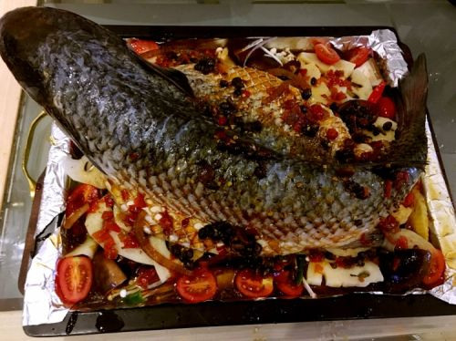 私房茄汁香辣烤鱼的做法图解7