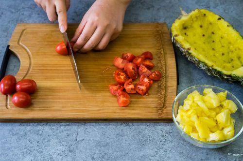 泰式菠萝饭的做法图解2