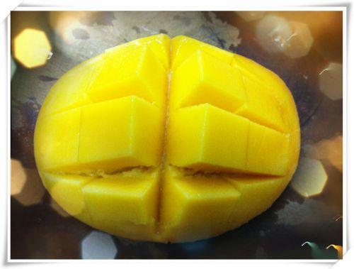 芒果酸奶的做法图解4