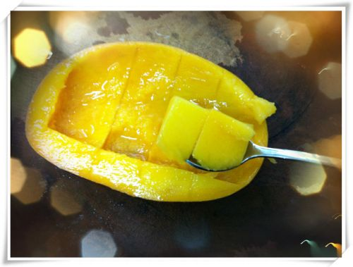 芒果酸奶的做法图解5
