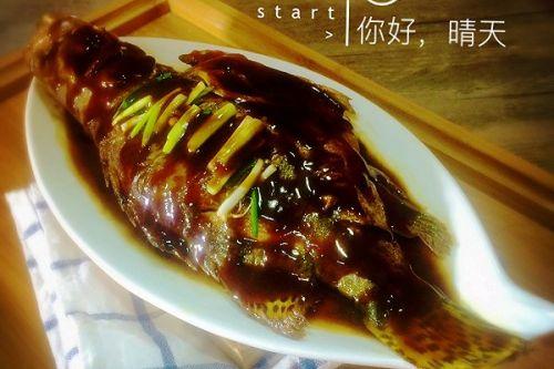 蒸桂鱼的做法