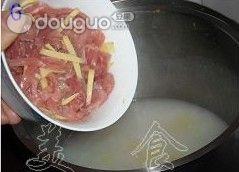 瘦肉玉米菜心粥的做法图解6