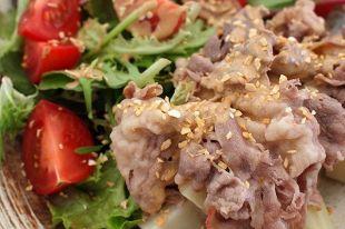 日式火锅牛肉沙拉