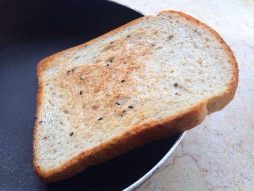 减脂增肌零食全麦吐司牛奶布丁的做法图解1