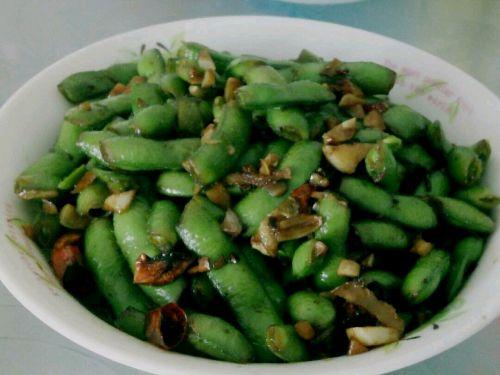 正宗武汉凉拌毛豆~健康版的做法图解4
