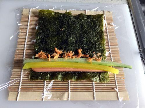 反卷寿司的做法图解5