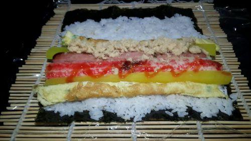 韩式紫菜包饭的做法图解4