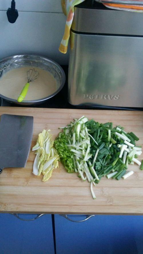 韩式蔬菜煎饼的做法图解2