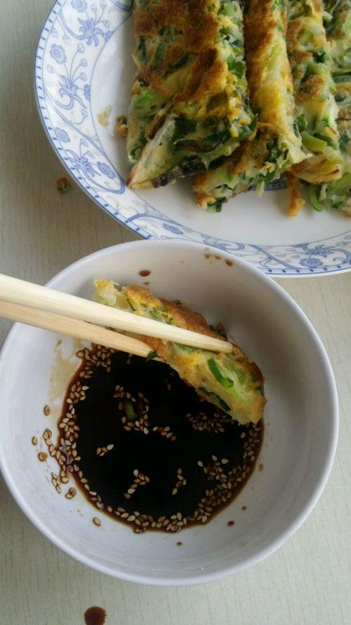 韩式蔬菜煎饼的做法图解11