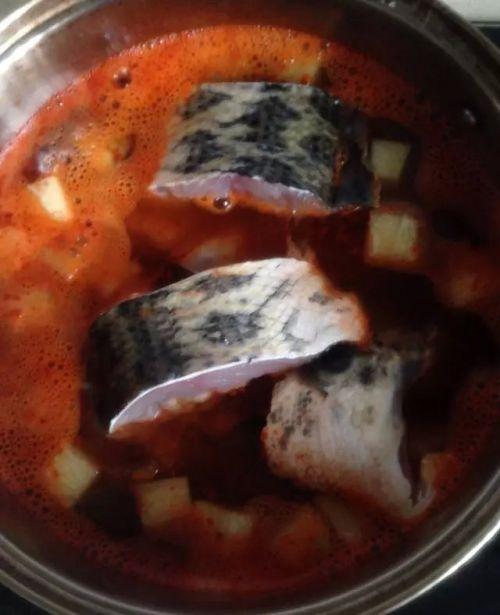 韩国辣鱼汤的做法图解6