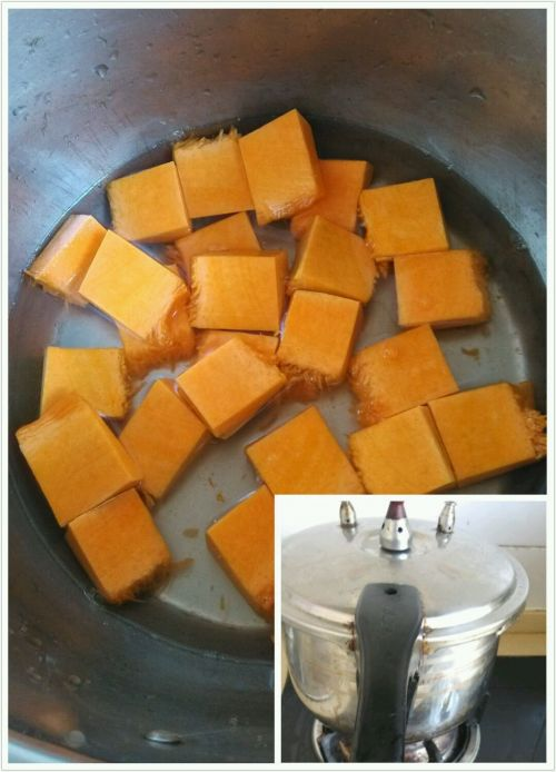 韩式南瓜粥的做法图解2
