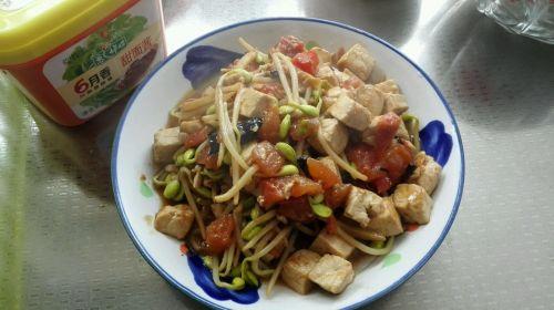 酱香豆芽豆腐的做法图解9