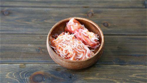日式蟹肉炒面的做法图解3