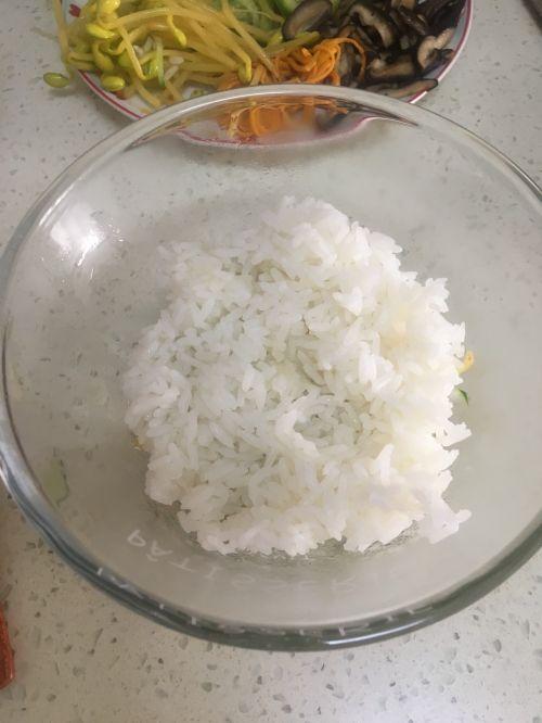 减肥版韩式拌饭的做法图解5