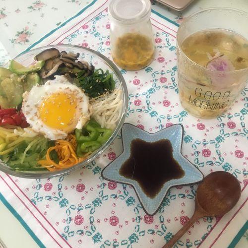 减肥版韩式拌饭的做法图解8