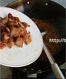 锅包肉(番茄酱版)的做法图解9