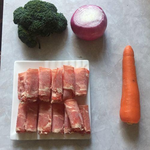 肥牛饭的做法图解1
