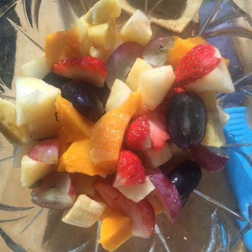酸奶水果捞的做法图解3