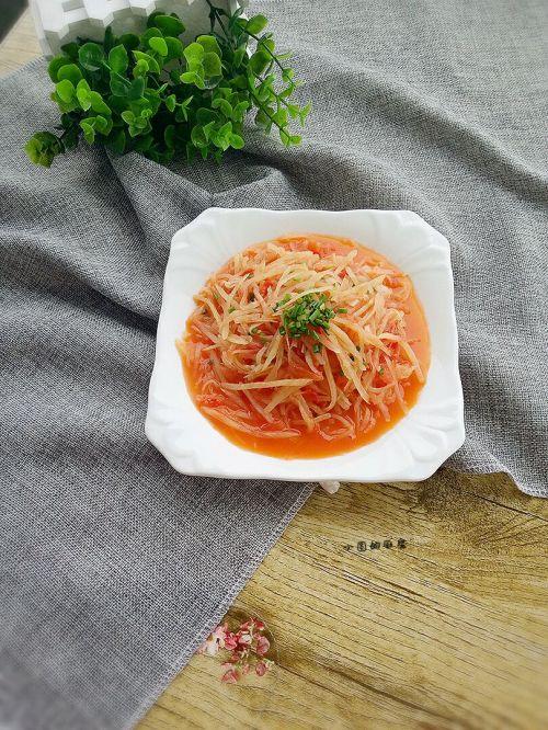 茄汁土豆丝的做法图解8